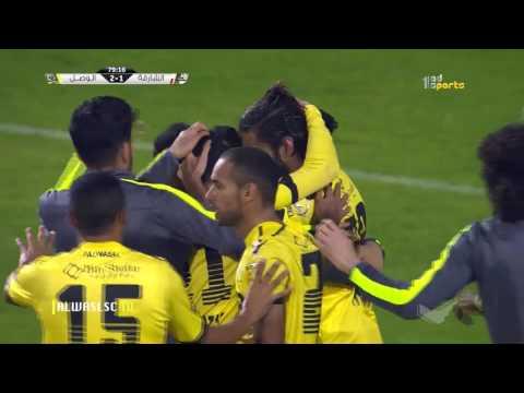Sharjah (1) x Al Wasl (2) AG League 09-02-2017~ Goals