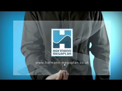 holographic animation - Hofmann Megaplan. See www,hofmann-megaplan.co.uk more information or call 01480 891011.