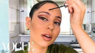 Euphoria's Alexa Demie Shares Her '90s Glam Tutorial | Beauty Secrets | Vogue