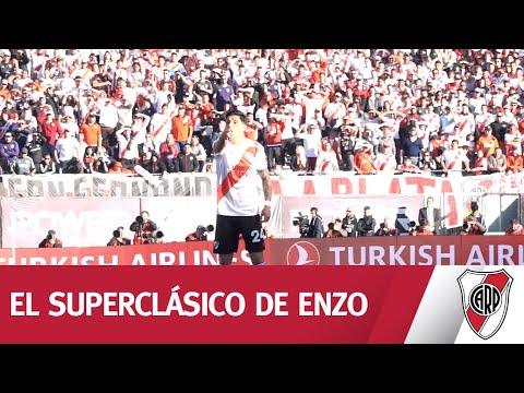 Enzo Pérez, el hincha que juega, lucha y ordena
