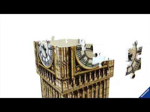 """Пазл  3D Ravensburger """"Пизанская башня"""""""