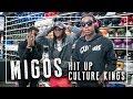 Migos run through Culture Kings Brisbane - Quavo, Offset & Takeoff spend big