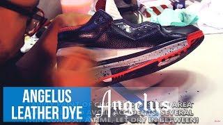 How To Use Angelus Jet Black Leather Dye | Li Ning Way Of Wade