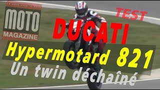 10. Essai Ducati Hypermotard (821 cm3) : un twin déchaîné !
