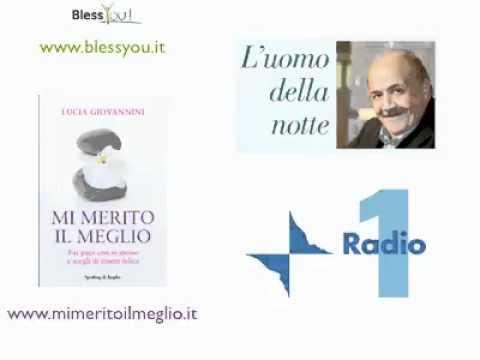 Costanzo intervista a L'uomo della Notte su Radio 1 Lucia Giovannini