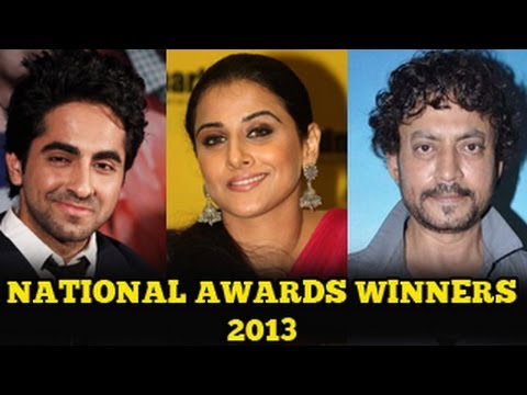 National Award Winners 2013 - Vicky Donor, Kahaani