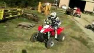 1. 2009 Polaris Scrambler 500 Test
