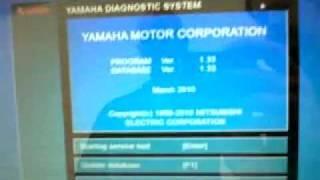 8. Yamaha Diagnostics - VX1100 07'