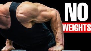 BOULDER SHOULDERS  Bodyweight Workout