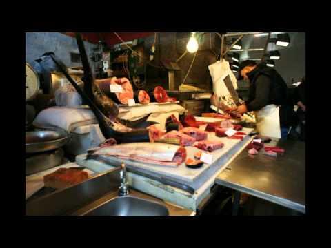 catania: i colori del sud tipici della pescheria