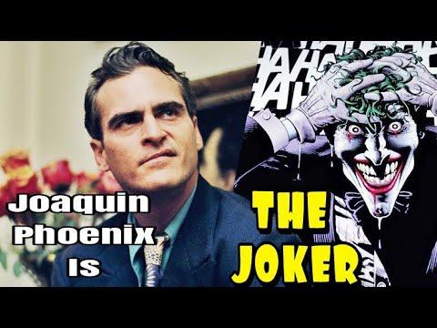 Joaquin Phoenix Confirmed As THE JOKER
