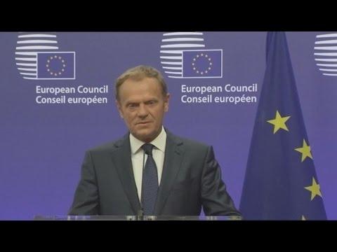 Ντ. Τουσκ: «Είμαστε αποφασισμένοι να διατηρήσουμε την ενότητά μας ως 27»