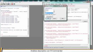 ANALISIS DESCRIPTIVO CON R COMMANDER