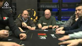 AcesBook Television - Italian Poker Open Powered By TitanBet.it Day1A - 3 Gennaio 2013