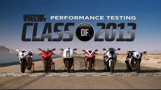 10. Class of 2013 Superbike Shootout | On Two Wheels