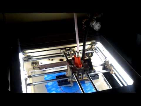 Ditto 3D printer – Bowden printing 2
