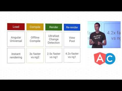 AngularConnect keynote