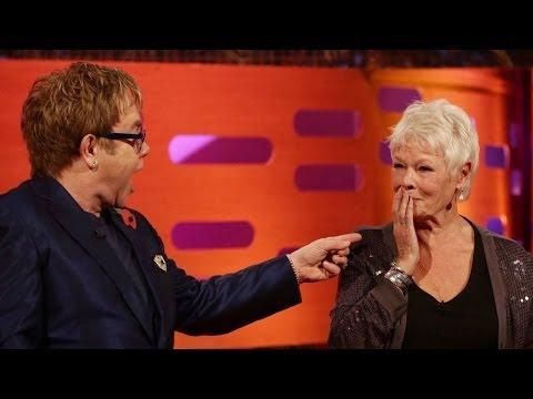 JUDI DENCH & ELTON JOHN Play University Challenge - The Graham Norton Show on BBC AMERICA