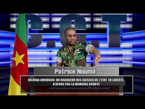 Selon Patrice Nouma BELINGA AMOUGOU et un  braqueu