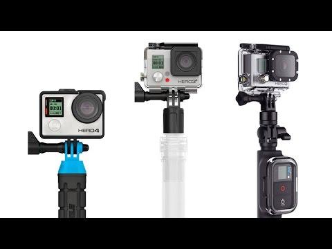 Differenze su Aste e Racchette per GoPro - #GoPro Tips by GoCamera