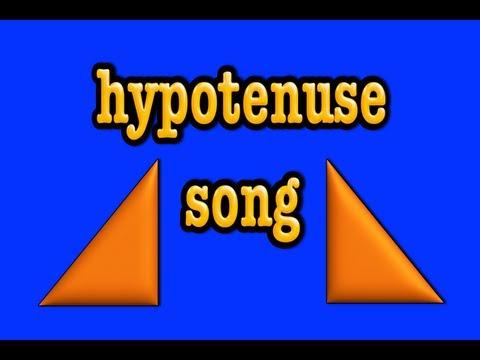 Hypotenuse song-rechtwinklige Dreiecke-Satz des Pythagoras-Geometrie