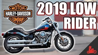 2. 2019 Harley-Davidson Low Rider 107 TEST RIDE!