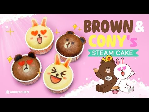 How to Make Character Steam Cakes! - Ari Kitchen