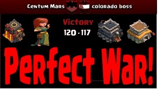 Perfect War! Centum Mars/Cerberus vs Colorado boss