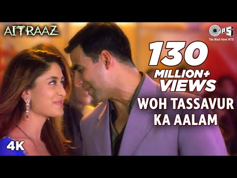 Woh Tassavur Ka Aalam | Kareena Kapoor | Akshay Kumar | Udit Narayan | Alka Yagnik | Aitraaz Movie