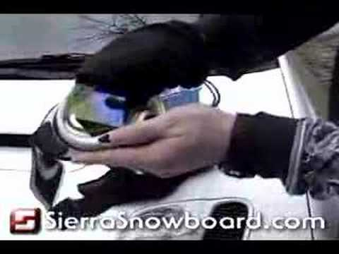 How to Change a Snowboard Goggle Lens