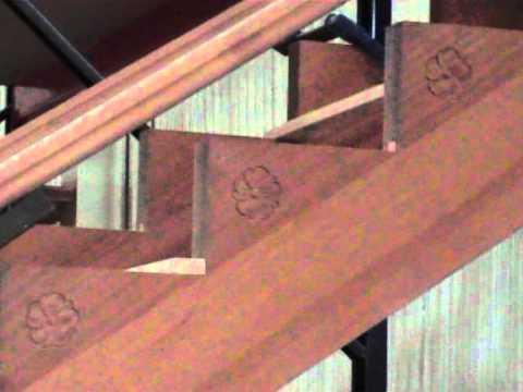 Escalera madera barcelona videos videos relacionados - Como hacer escalera de madera ...