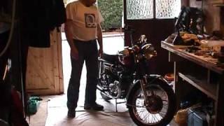 6. 1975 Triumph Bonneville rebuild
