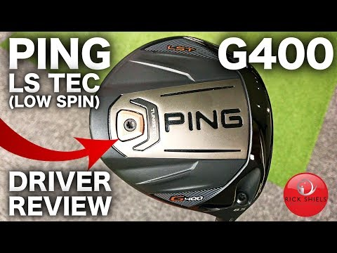 NEW PING G400 LST (LOW SPIN) DRIVER REVIEW