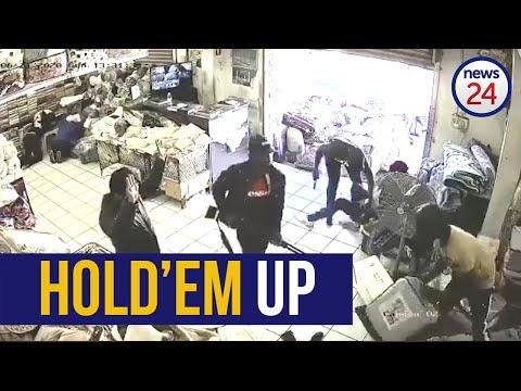 WATCH | Seven armed robbers storm store in Pietermaritzburg