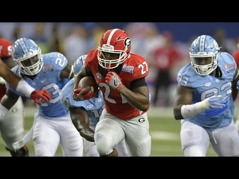 Nick Chubb Reminds College Football Fans How Good He Is | CampusInsiders (видео)