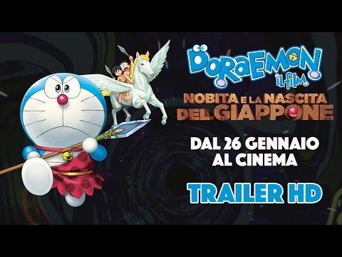Preview Trailer Doraemon Il Film - Nobita e la nascita del Giappone, trailer italiano