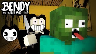 Video Monster School : BENDY AND THE INK MACHINE CHALLENGE - Minecraft Animation MP3, 3GP, MP4, WEBM, AVI, FLV Juni 2018