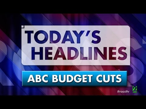 Abc - The ABC is expecting more budget cuts and there are rumours several ABC programs will be cancelled. In the words of a niece at a Christmas party that's gotten a bit out of control: what the...