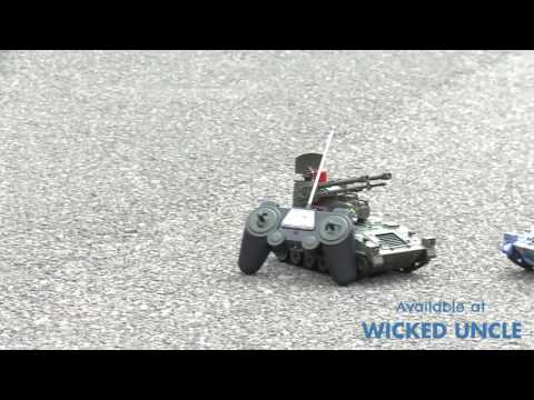 Youtube Video for Battle Tanks - Infra Red Remote Control
