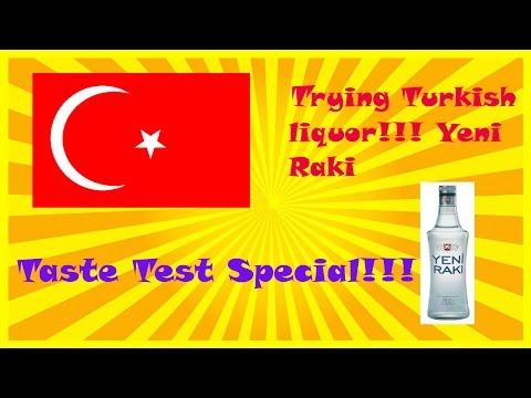 Trying Turkish Liquor: Yeni Raki Taste Test