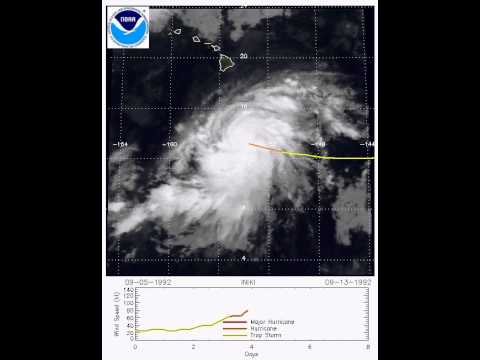 details of the origin and devastation of hurricane iniki in hawaii Hurricane iniki was the 10th hurricane and the 7th major hurricane of the 1992 pacific hurricane season the origin of iniki is unclear iniki peaked as category 4 hurricane and hit hawaii with wind of 145 mph inki rapidly weakened ande went extra tropical midway between also and hawaii.