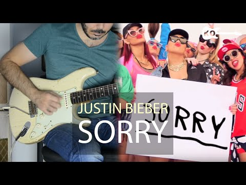 Justin Bieber - Sorry - Electric Guitar Cover By Kfir Ohcaion