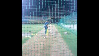 Villiers South Africa  city images : AB de Villiers films South Africa net practice in India