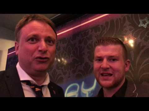 Uitleg van The Great One meteen na de Blackjack finale in Knokke