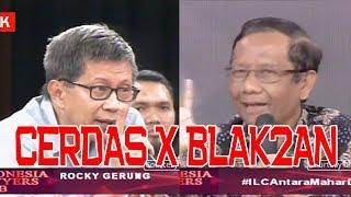 Video BLAK BLAKAN Prof. Mahfud MD X Rocky Gerung CERDAS!!! MP3, 3GP, MP4, WEBM, AVI, FLV Maret 2019