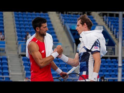 Novak Djokovic Practice with Murray and Zverev at TOKYO OLYMPICS 2021