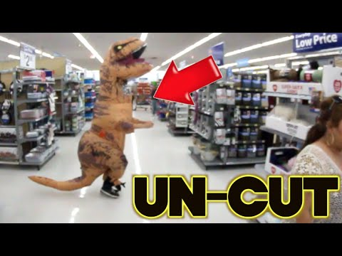 DINOSAUR GETTING KICKED OUT!