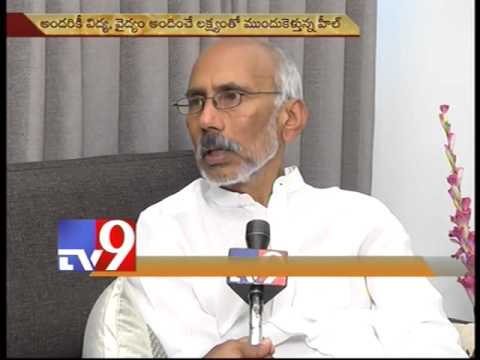 DR PRASAD TALKS TO TV9 (Telugu)