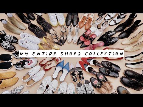 【鞋控必看】我的109双鞋子合集   平价/奢侈品红黑榜   靴子   运动鞋   平底   高跟   My Entire Shoes … видео