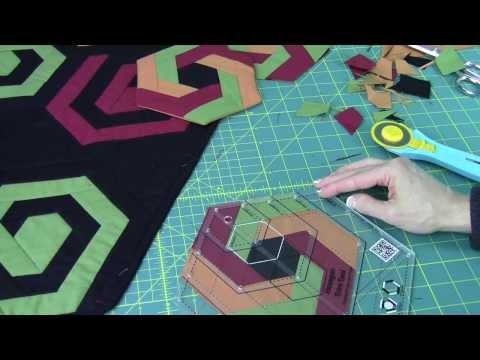 patchwork - blocco con motivo creativo